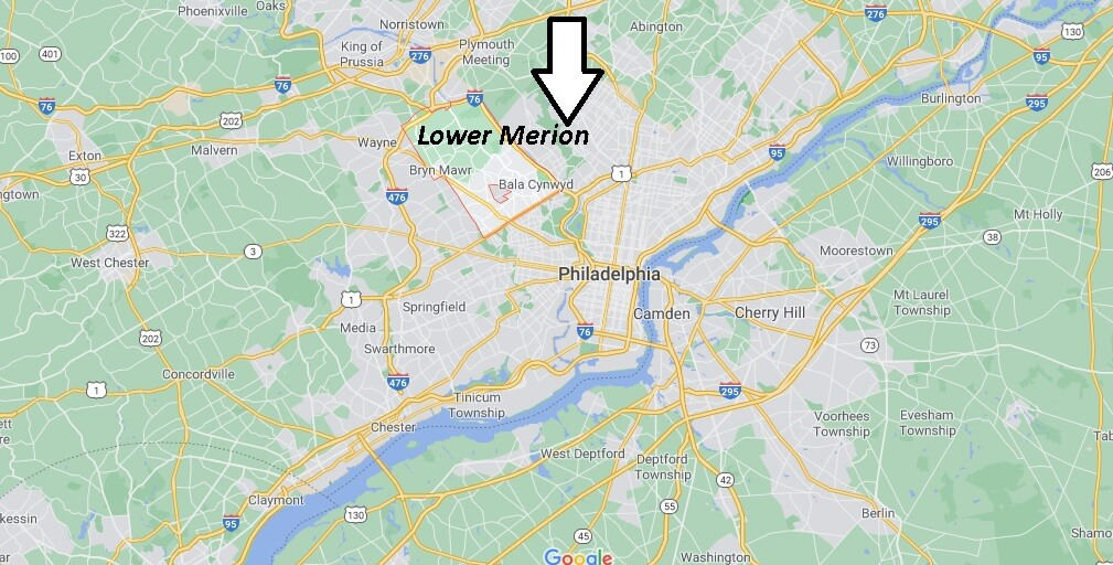 Where is Lower Merion Located