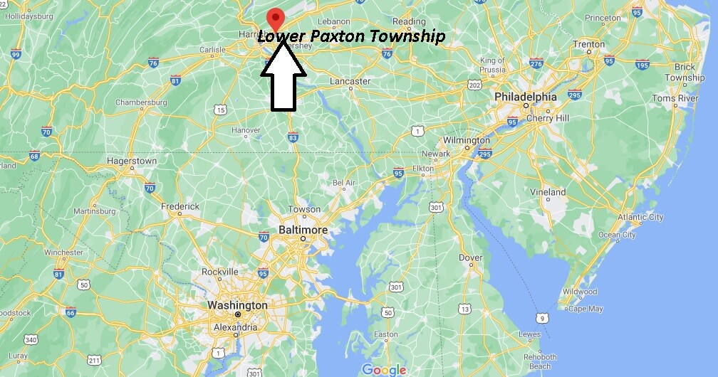 Where is Lower Paxton Township Located
