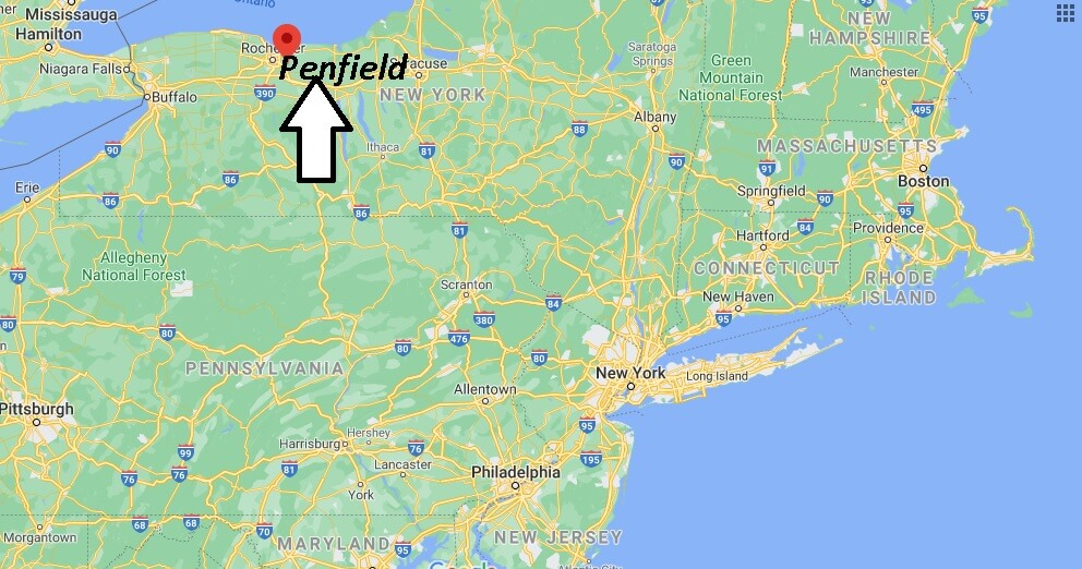 Where is Penfield Located