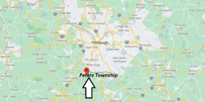 Where is Peters Township Located