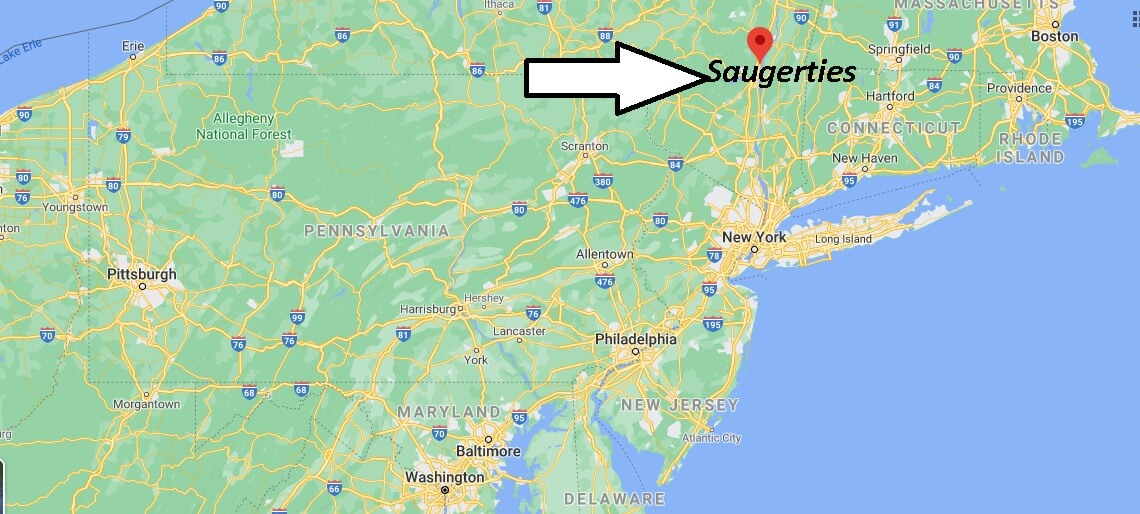 Where is Saugerties Located