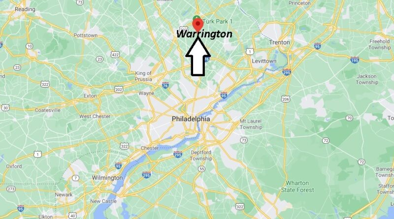 Where is Warrington Located