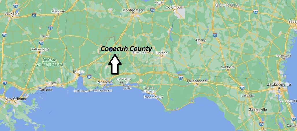Conecuh County Alabama
