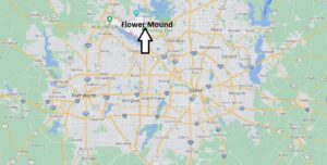 How far is Flower Mound Texas from Dallas