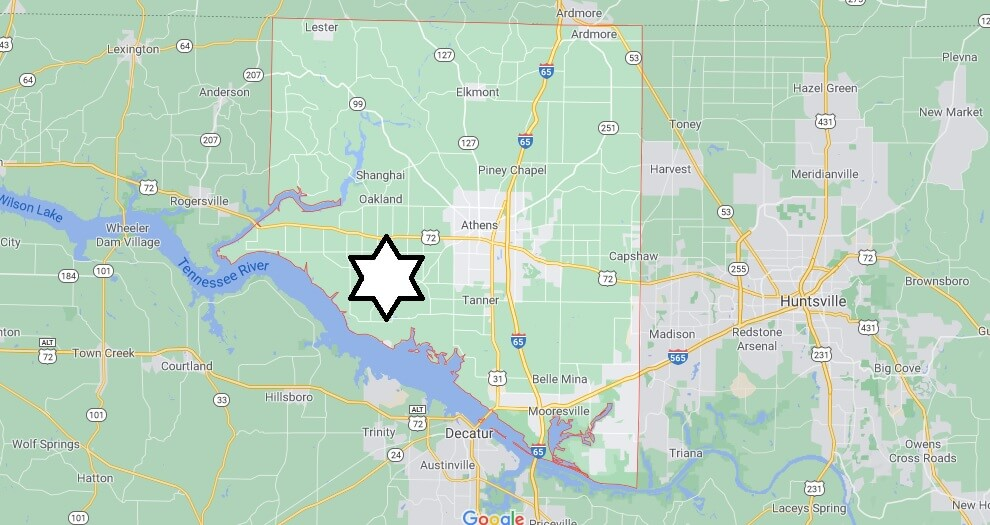 What cities are in Limestone County Alabama