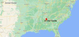 What cities are in St. Clair County Alabama