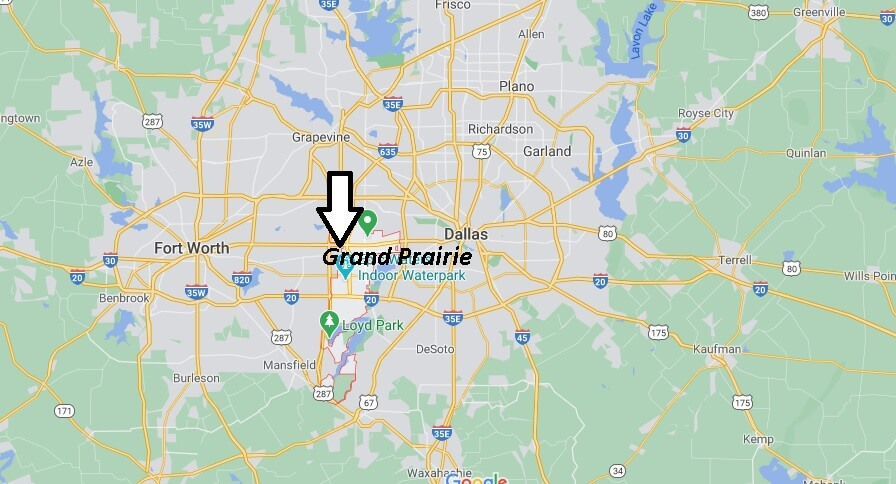 What county is Grand Prairie TX in