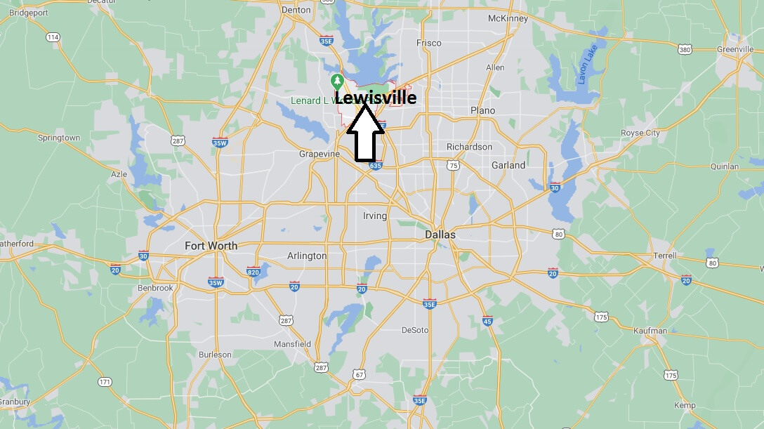 What county is Lewisville TX in