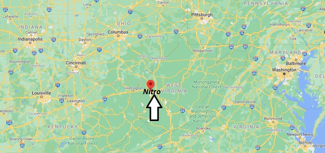 What county is Nitro WV in