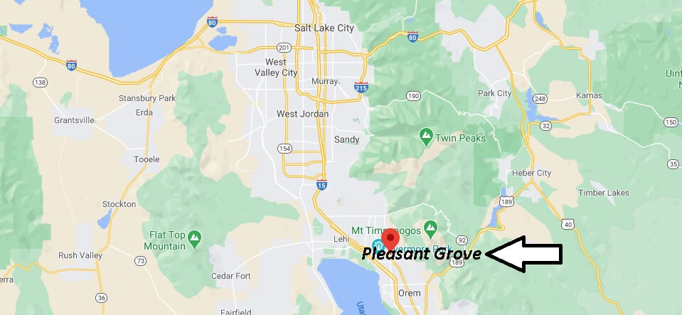 What county is Pleasant Grove UT in