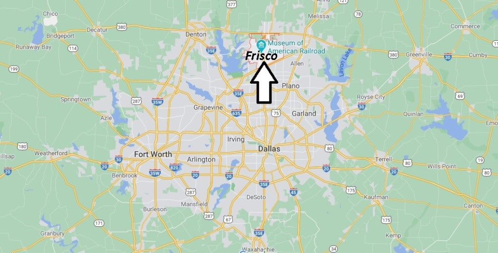 Where is Frisco Located