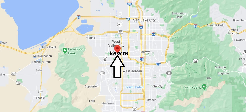 Where is Kearns Located