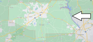 Where is Lee County Located