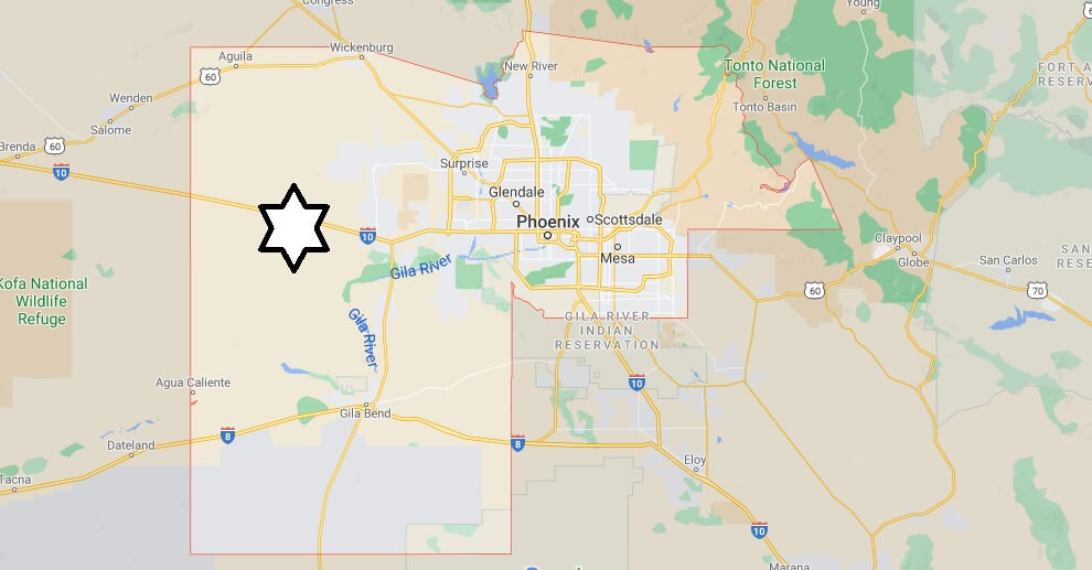 Where is Maricopa County Located