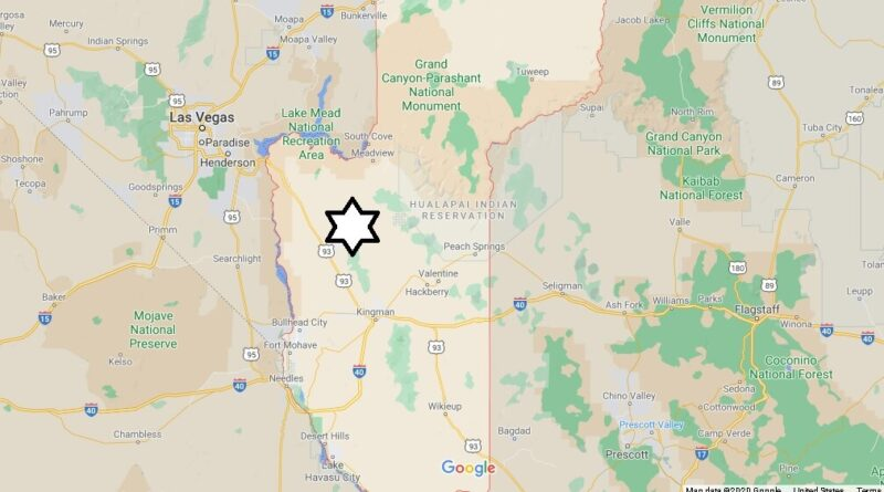 Where is Mohave County Located