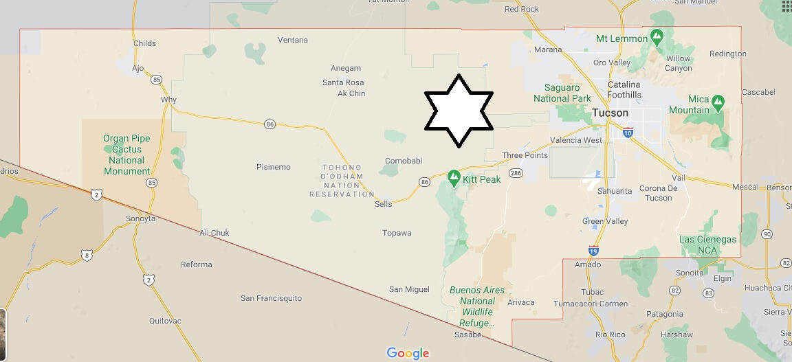 Where is Pima County Located