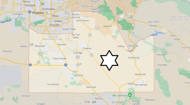 Where is Pinal County Located