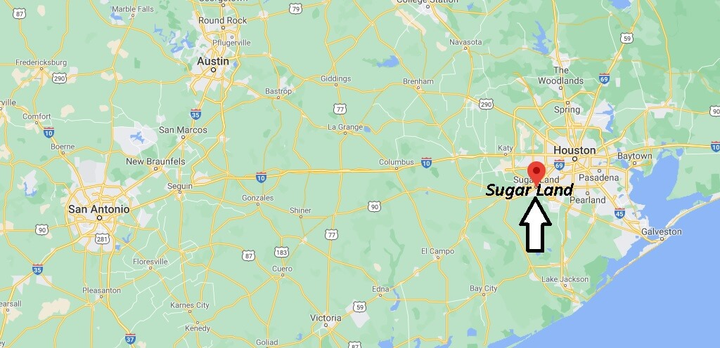 Where is Sugar Land Located