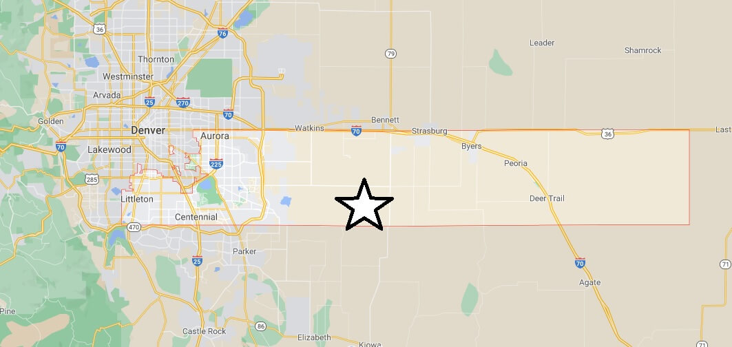 What cities are in Arapahoe County Colorado