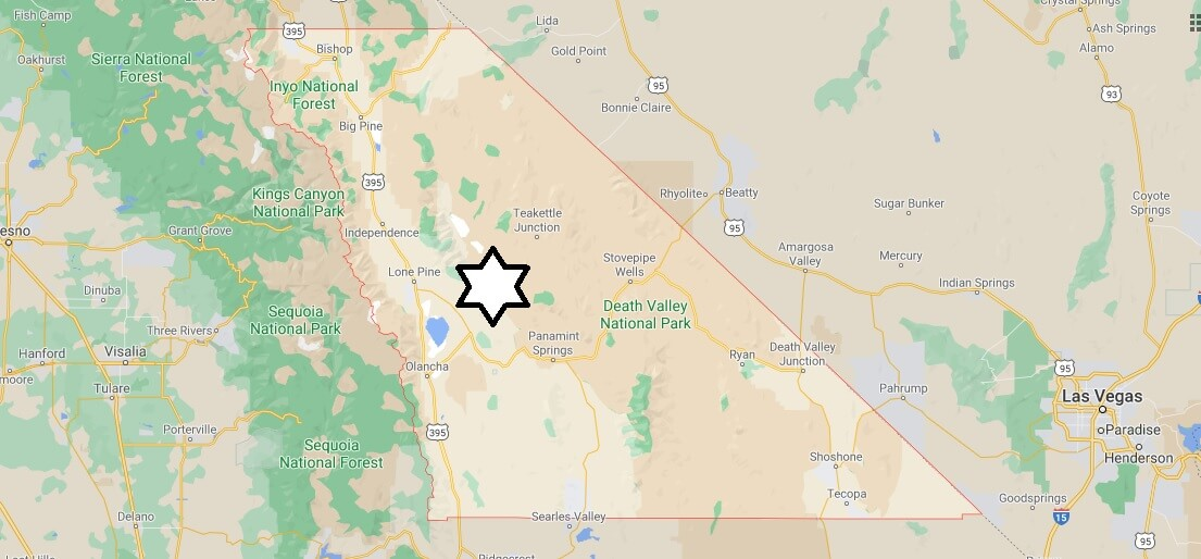 What cities are in Inyo County California