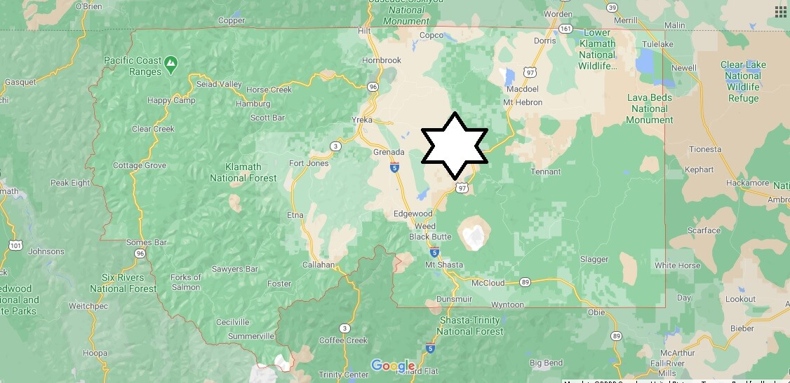 What cities are in Siskiyou County California