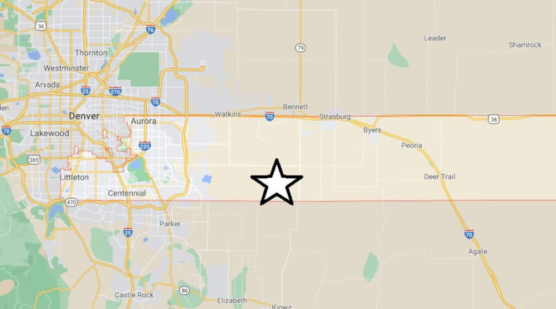 Where is Arapahoe County Located