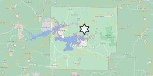 Where is Cleburne County Located