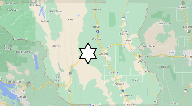Where is Colusa County Located