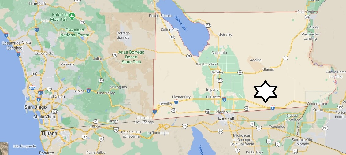 Where is Imperial County Located