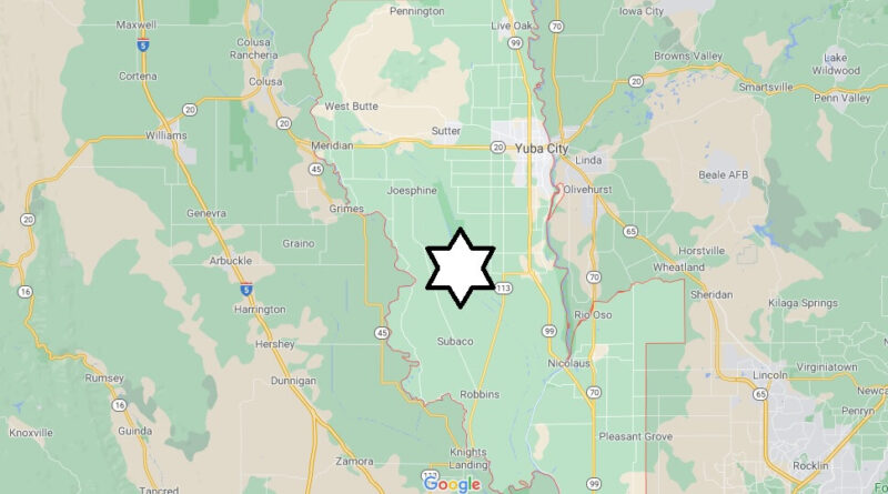Where is Sutter County Located