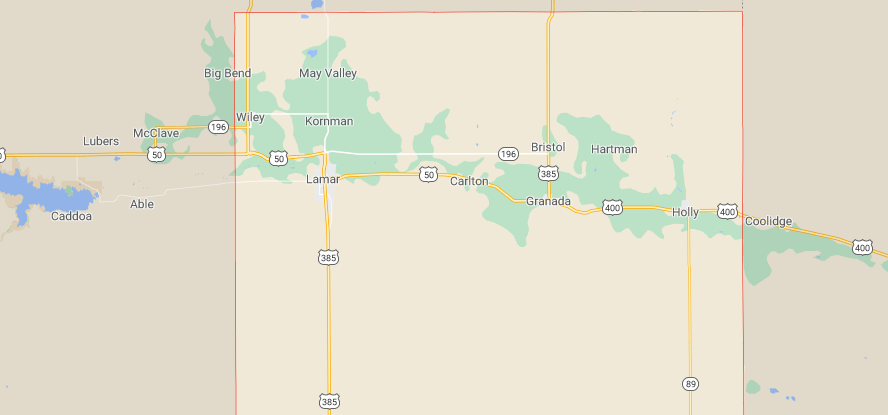 Prowers County Colorado