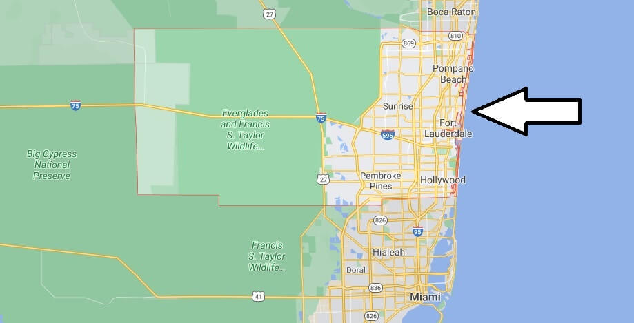 What cities are in Broward County
