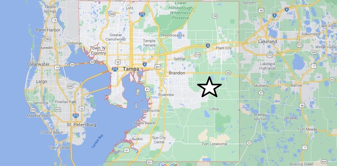 What cities are in Hillsborough County