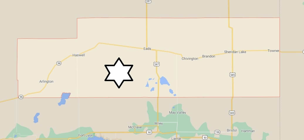 What cities are in Kiowa County Colorado