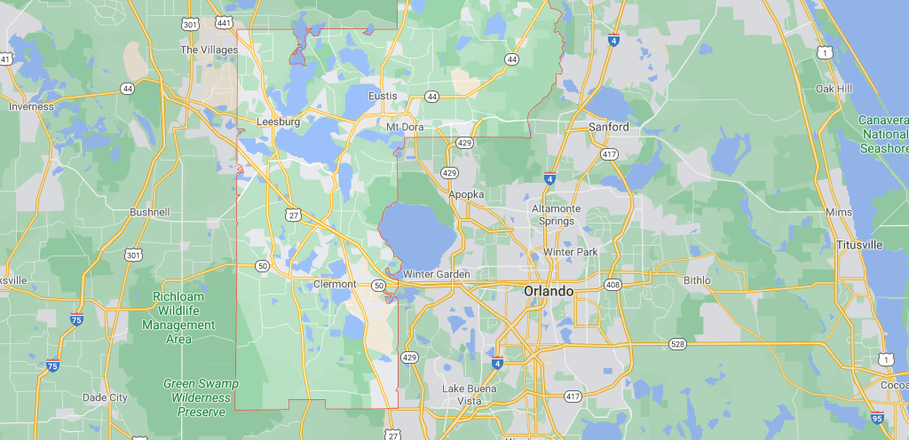 What cities are in Lake County