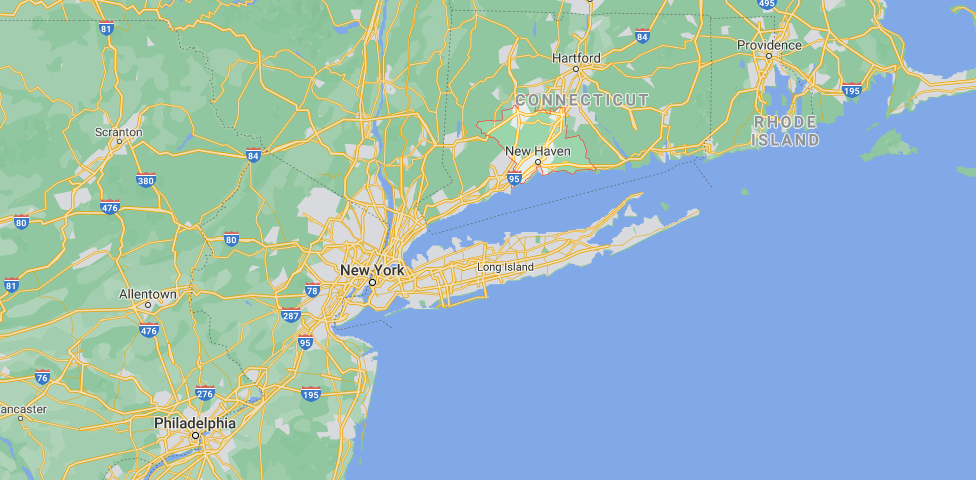 What cities are in New Haven County