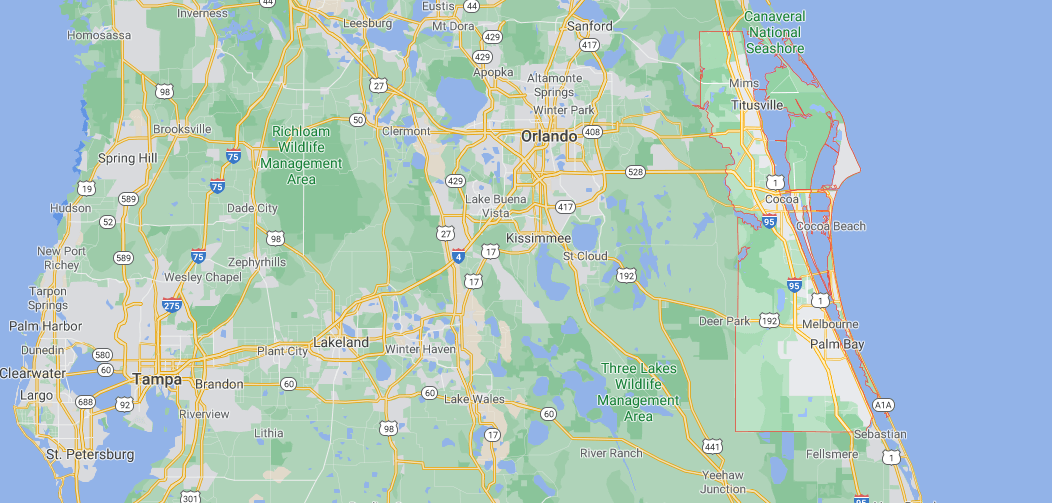 Where in Florida is Brevard County