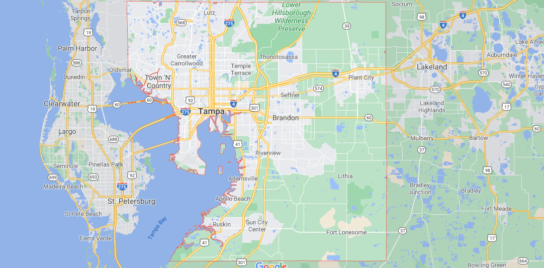 Where in Florida is Hillsborough County