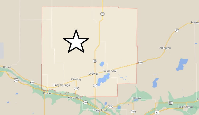 Where is Crowley County Located