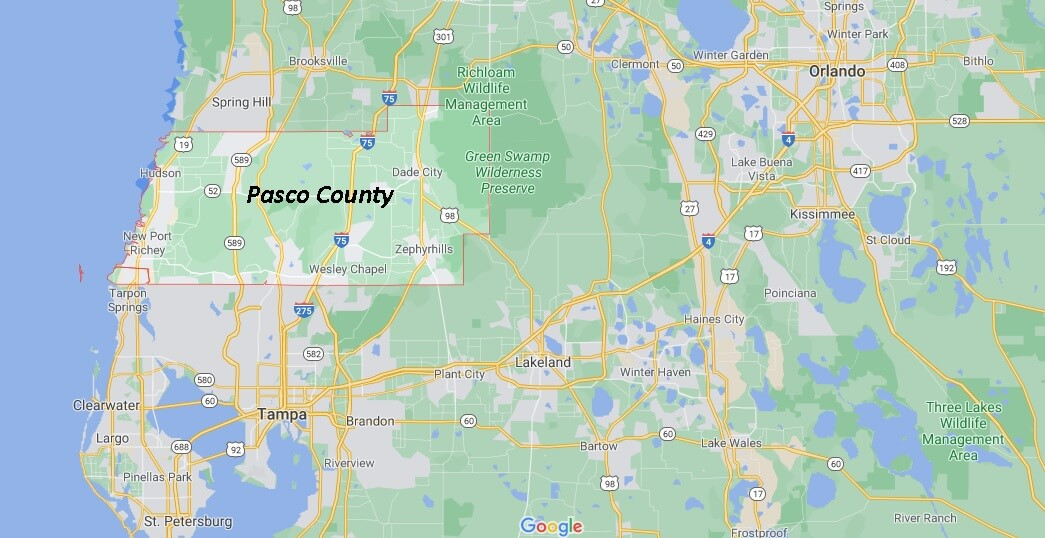 Pasco County Florida