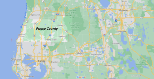 What cities are in Pasco County