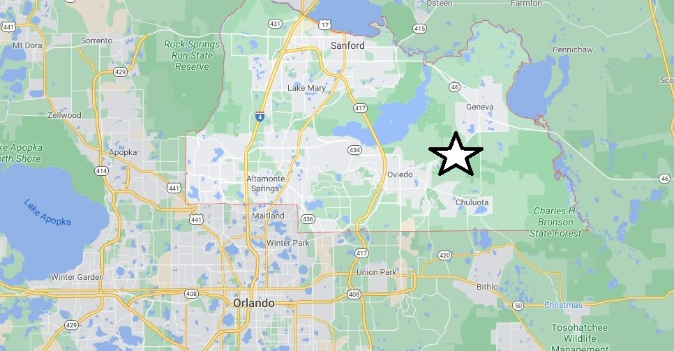 What cities are in Seminole County