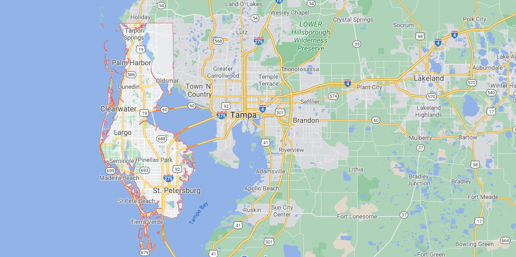 Where in Florida is Pinellas County