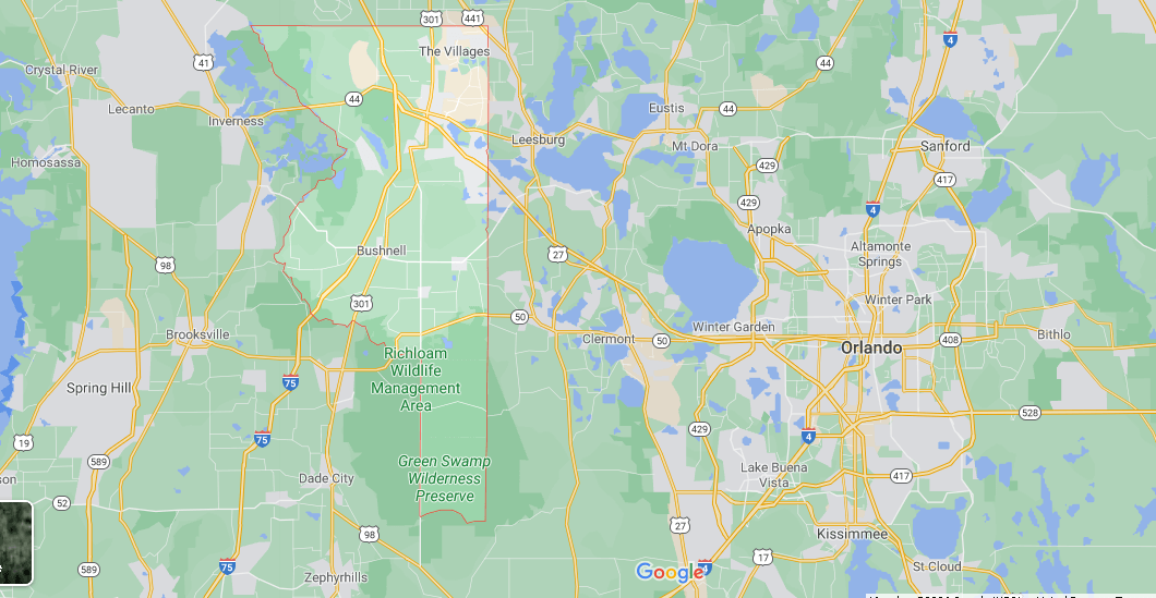 Where in Florida is Sumter County