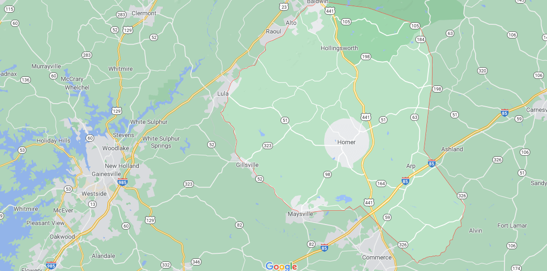 Where in Georgia is Banks County