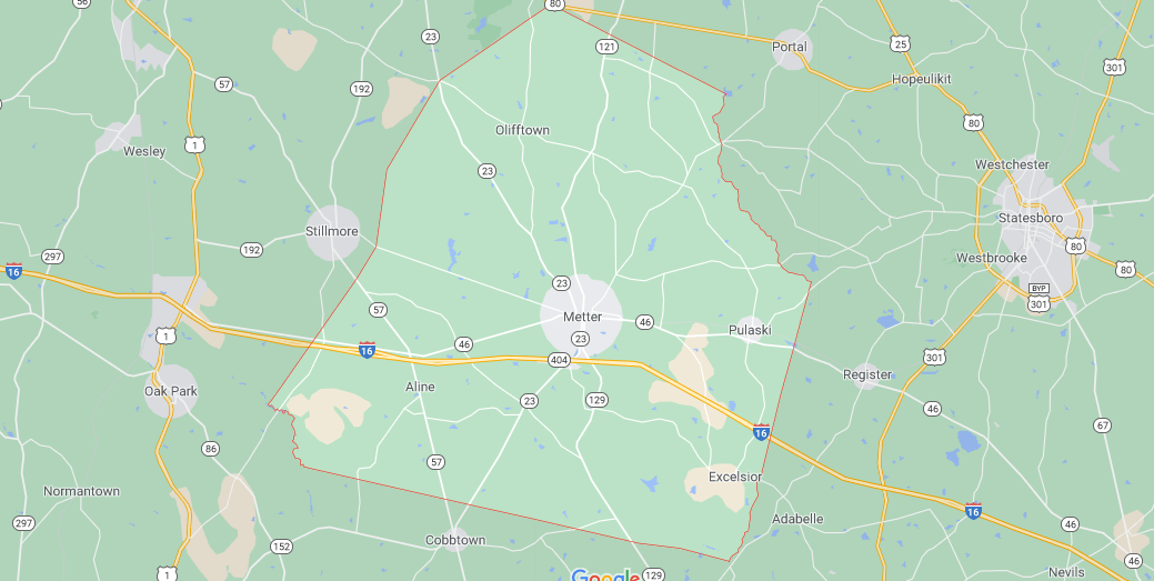 Where in Georgia is Candler County