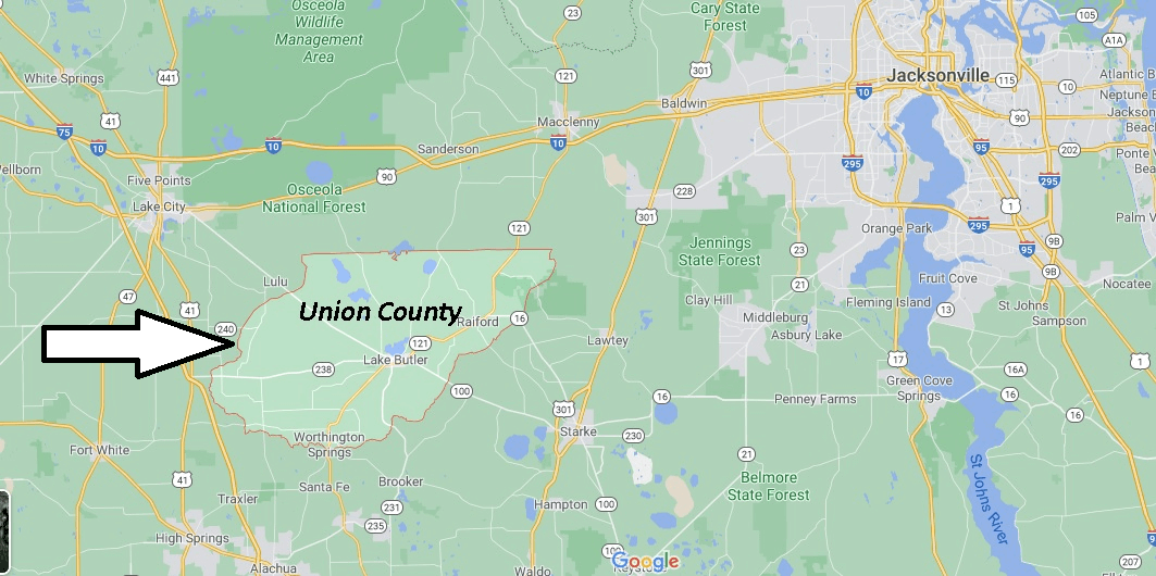 Where is Union County