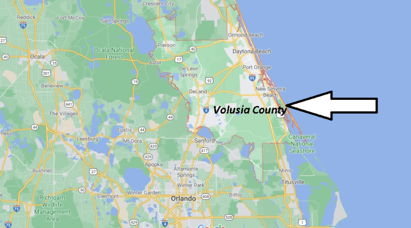 Where is Volusia County