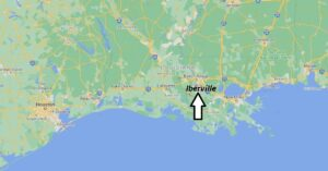 What cities are in Iberville Parish