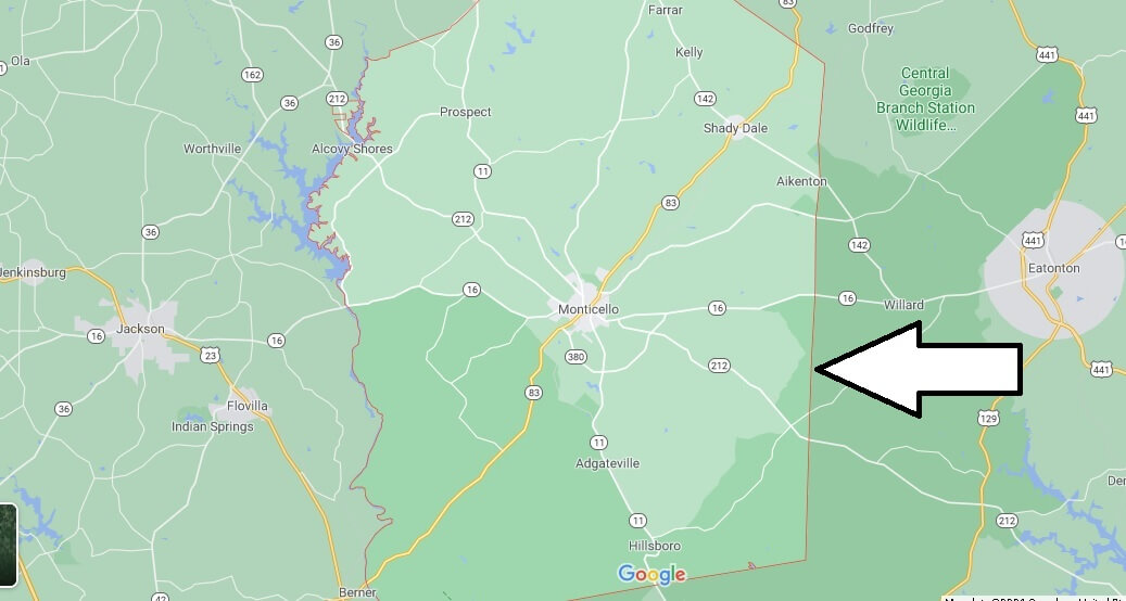 What cities are in Jasper County